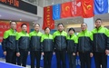 安徽电大乒乓球队在国开办学...