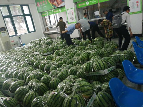 我校教职工积极捐购帮扶村农产品