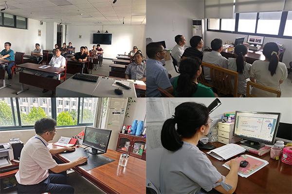 """安徽广播电视大学认真组织师生收看国家开放大学""""开学第一课"""""""