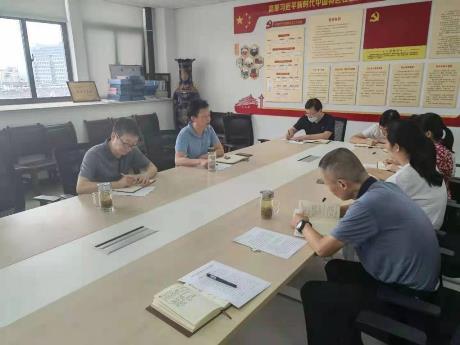 网络教育学院党支部召开党史学习教育专题组织生活会