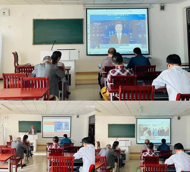 我校召开学习宣传贯彻全国职业教育大会精神会议