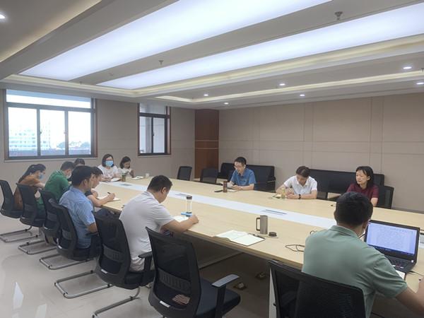 机关党总支教务处党支部开展八月主题党日活动